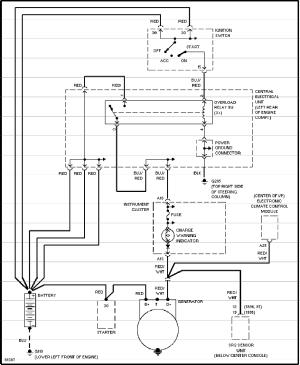 Volvo 850 alternator & regulator service manual
