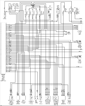 Volvo 960 wiring diagrams