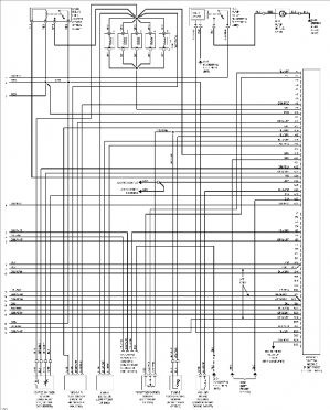 Volvo 960 wiring diagrams