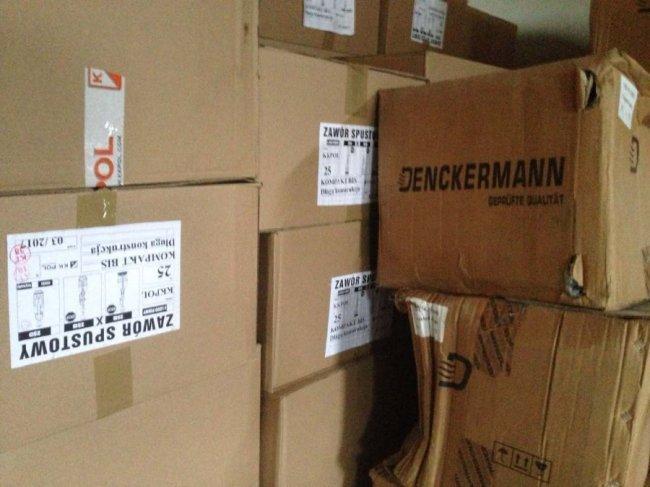 Фіскали «накрили» у Володимирі склад із контрафактом
