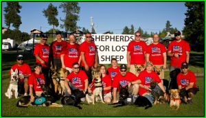 Honor and Shepherds For Lost Sheep Group Framed