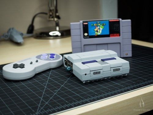 Mini SNES - Raspberry Pi 2/3 Case