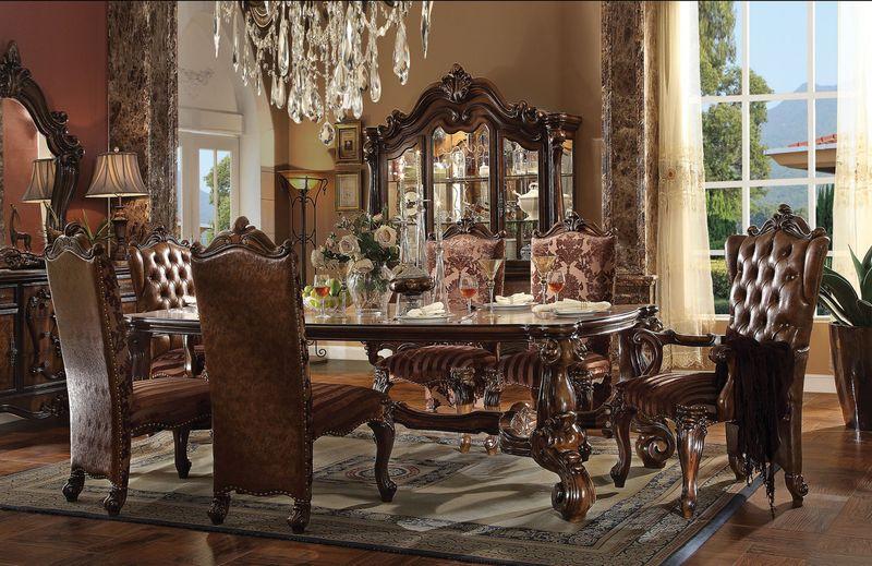 Von Furniture Versailles Formal Dining Room Set In Cherry