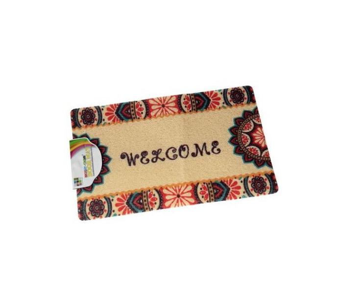tapis paillasson pour porte d entree 60cmx40cm motif plume