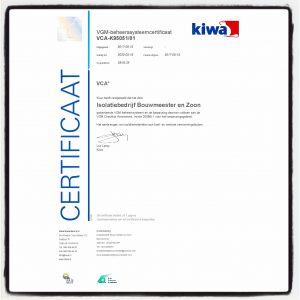 veiligheid; safety; safety first; VCA; Kiwa