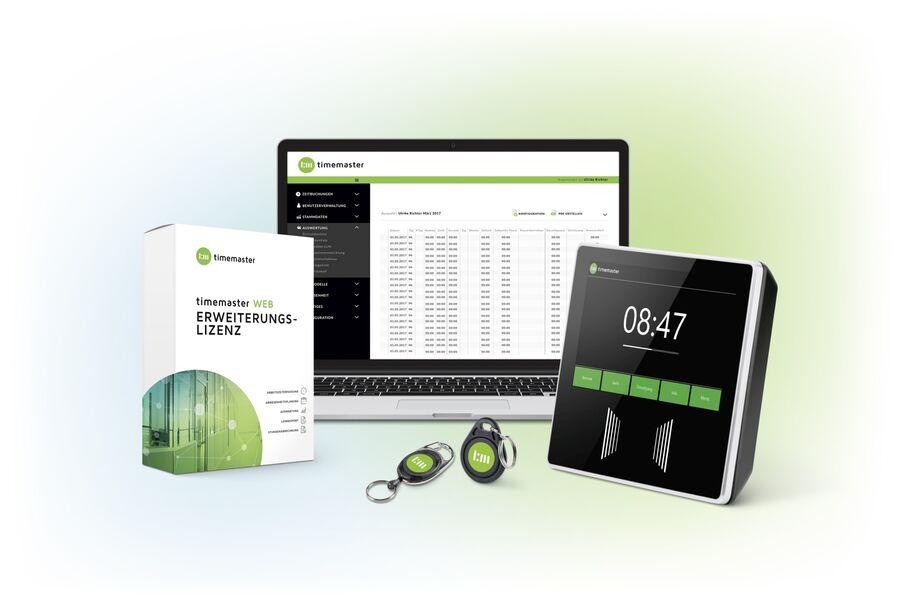 digitale Zeiterfassung Terminal