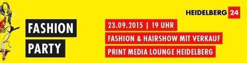 Einladung / Invitation: 23. Sept. Fashion Show – Print Media Lounge Heidelberg