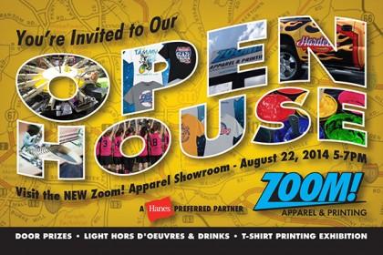 4x5 Open House Postcard Side 1