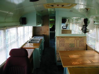 Here is a great link to a site dedicated to converting School Buses into Moter Homes