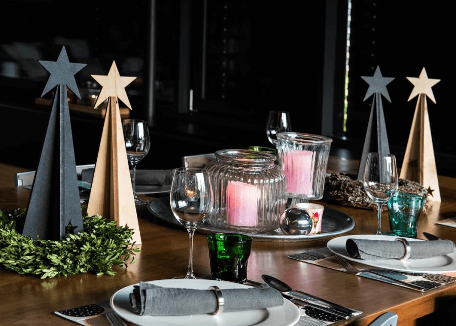 VONsociety: Tiroler Zirbe, SilenTree, Design Loft und Chalet Zirbe als Tischdekoration © SilenTree
