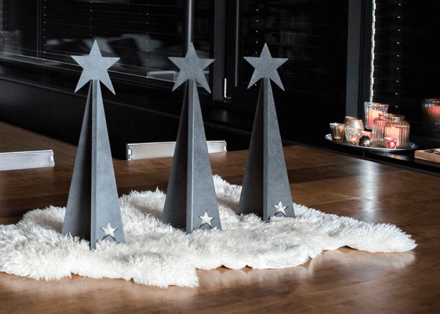 VONsociety: Tiroler Zirbe, SilenTree, Design Loft mit Fell auf dem Tisch© SilenTree