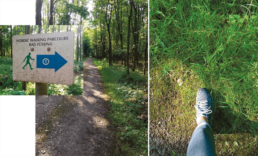 VONsociety: Das Mühlbach Bad Füssing, Kurpark, Jogging