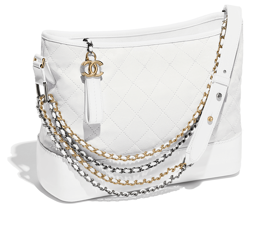 VONsociety: CHANEL'S GABRIELLE, Tasche in weiß © CHANEL
