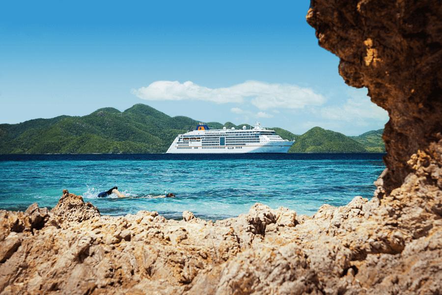 VONsociety: Asien Kreuzfahrt, Malcapuya Island © Hapag-Lloyd Cruises