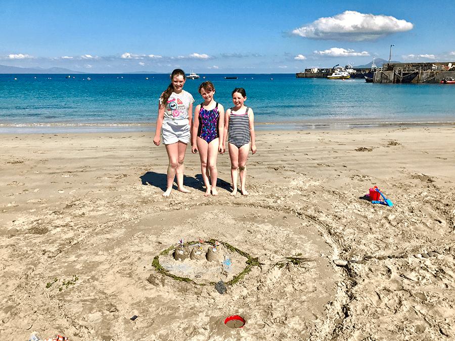 VONsociety: Verabredung mit Single Malt, Strand Isle of Clare