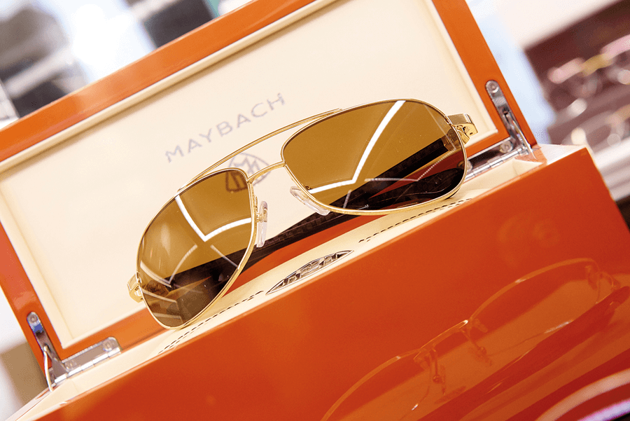VONsociety: MAYBACH: Edle Brillen, MAYBACH Brille in Echtgold mit Geschenkbox