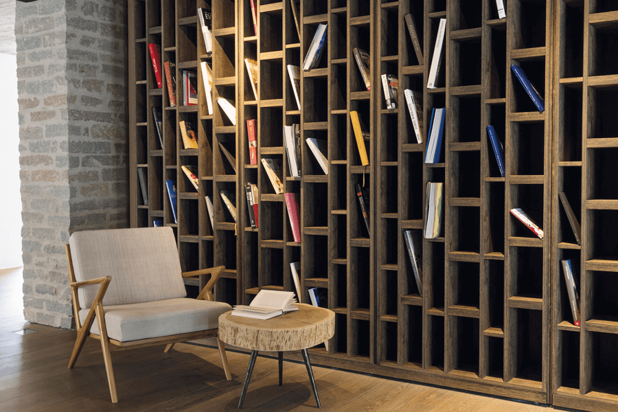 VONsociety: Wiesergut, Bibliothek © Rainer Hofmann