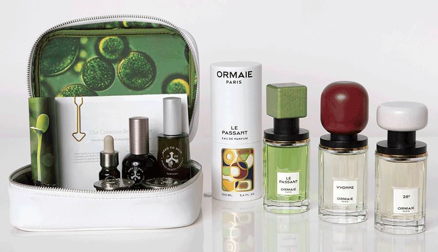 VONsociety: Pflegeset von Seed to Skin, 3 Parfums von Ormanie: Le Passant, Yvonne, 28°