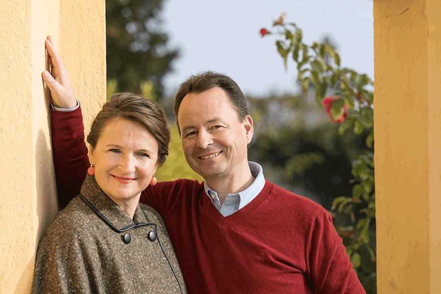 VONscoiety: Winzer in der Krise, Eva und Michael Moosbrugger vom Weingut Schloss Gobelsburg © Regina Huegli