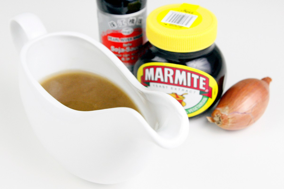 Vegan Gravy with Marmite