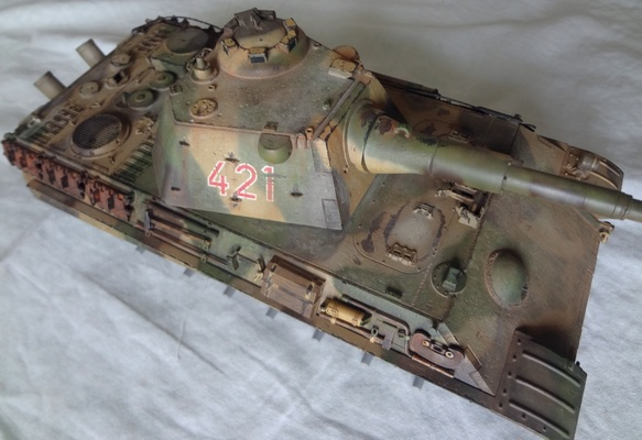 Panther II – Invecchiamento (weathering)