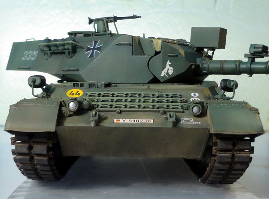 Leopard 1A4 – Montaggio e verniciatura (assembling and painting)