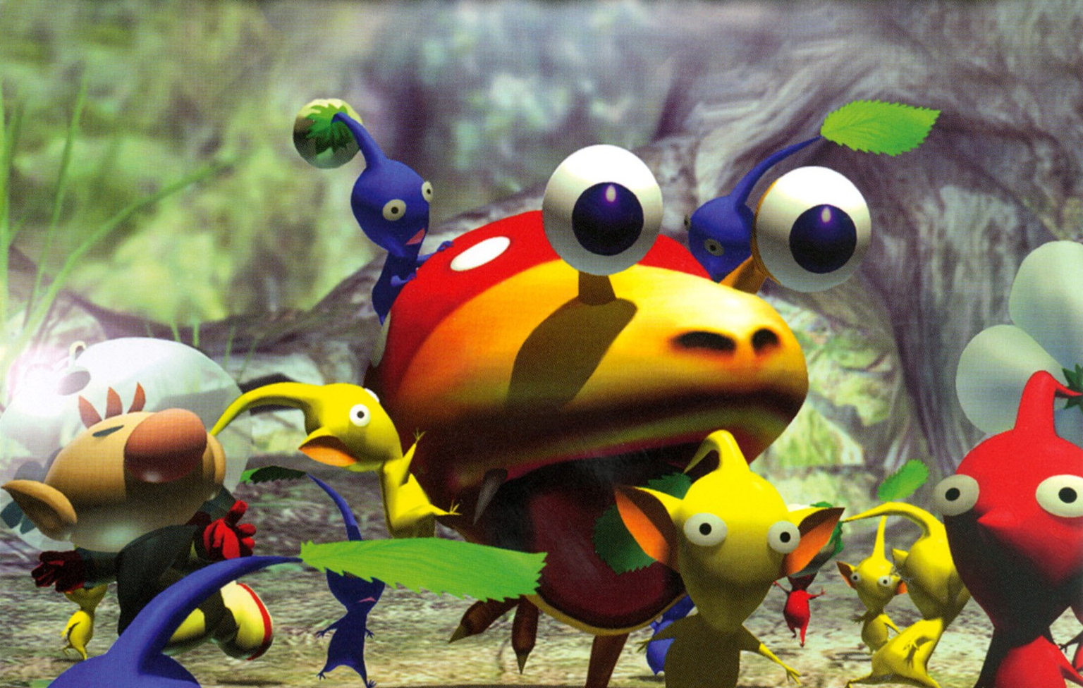 Pikmin Gamecube Review Vooks