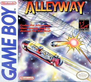 Alleyway (Game Boy) Review