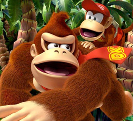 Donkey Kong Country Returns 3D adds more than 3D to the barrel
