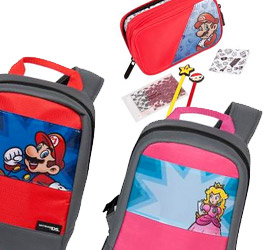 New Nintendo themed DS/3DS kits and bags coming to Aussie stores in May
