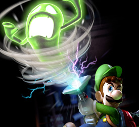 Nintendo America scares Luigi's Mansion: Dark Moon into 2013