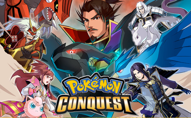Competition: Three copies of Pokémon Conquest to be won!
