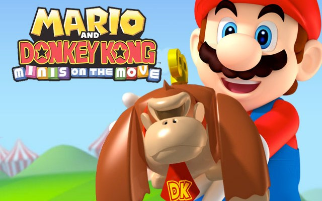 Mario and Donkey Kong Mini's on the Move (3DS eShop) Review