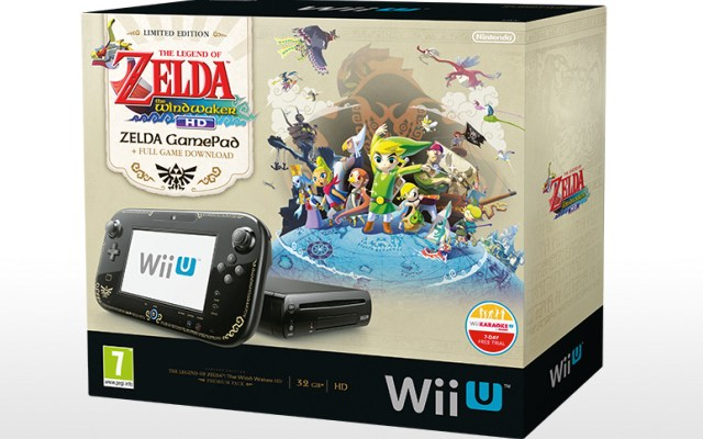 Legend of Zelda Wind Waker HD Limited Edition game and console coming to Europe