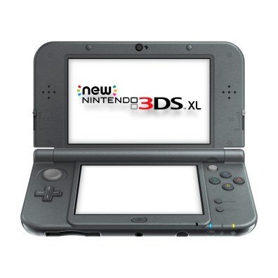 New Nintendo 3DS XL Metallic09 Black