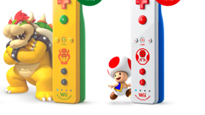 Toad and Bowser themed Wii Remotes coming to Japan
