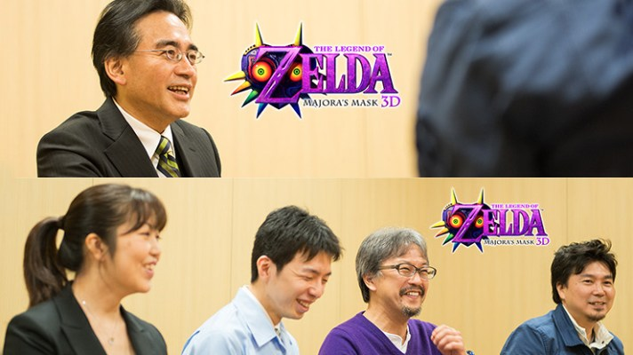 Iwata Asks about Majora's Mask 3D, after year long silence