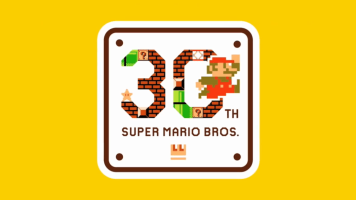 Mario Maker will help celebrate Mario's 30th Anniversary this September