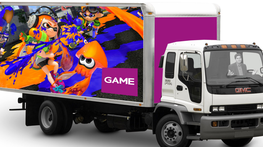 GAME Sorry As Lorry Full Of Splatoon Limited Edition Is