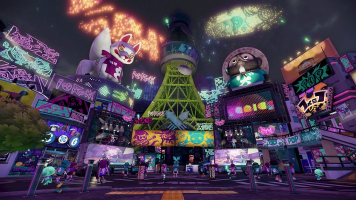 """Splatoon to get free DLC """"every few weeks"""", and a Friendly update in August"""