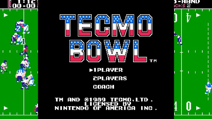 Tecmo Bowl rated by Australian Classification Board for Virtual Console release
