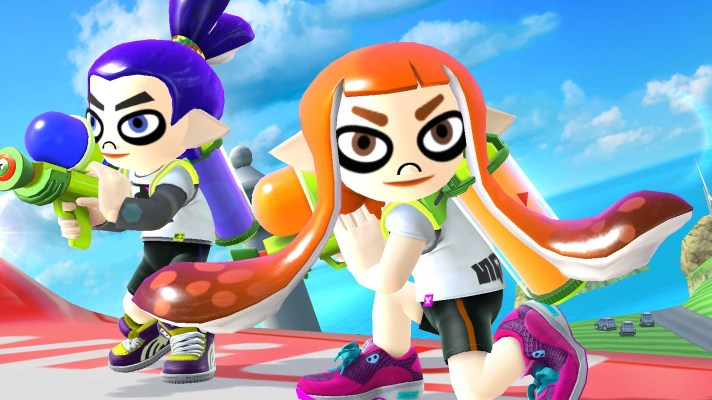 Splatoon's Inkling costume comes to Smash along with Miiverse stage on June 15th