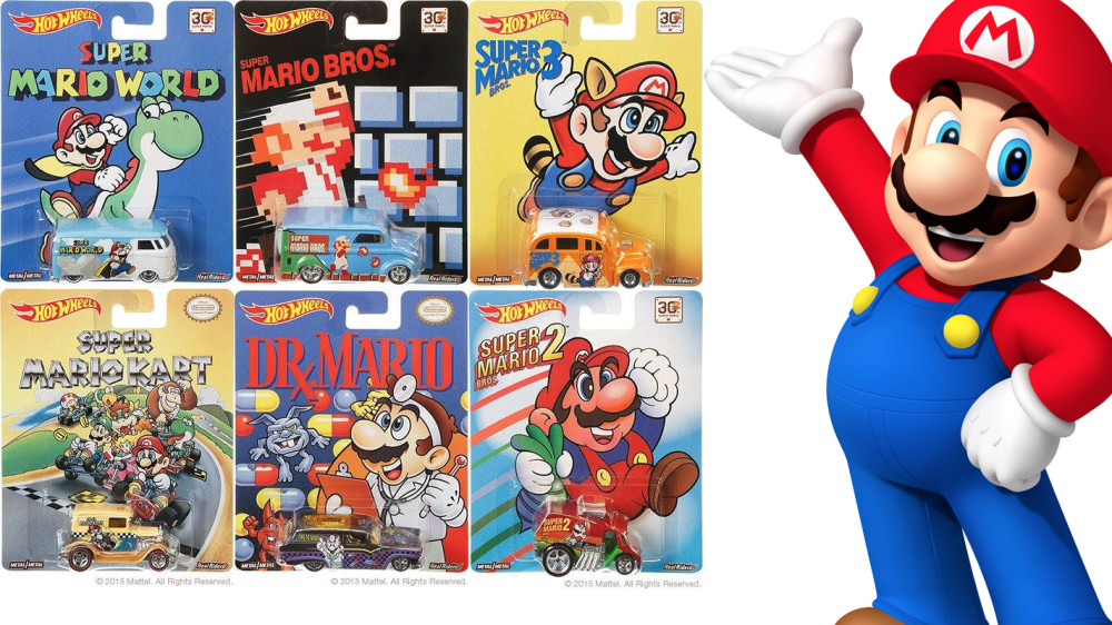 Super Mario Bros 30th Anniversary Hot Wheels Cars Spotted
