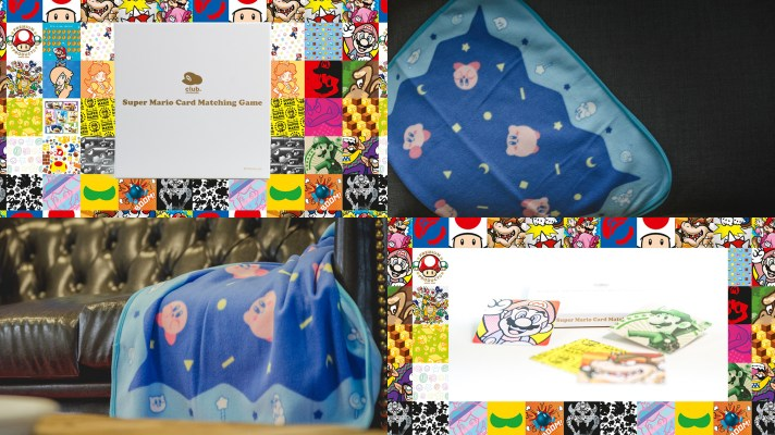 Kirby's Dream Blanket and Card Matching Game added to Club Nintendo Australia
