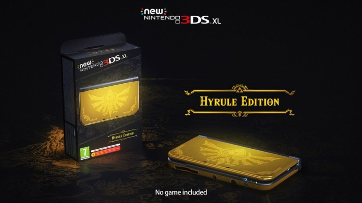 New Nintendo 3DS XL Hyrule Edition set for Euro release