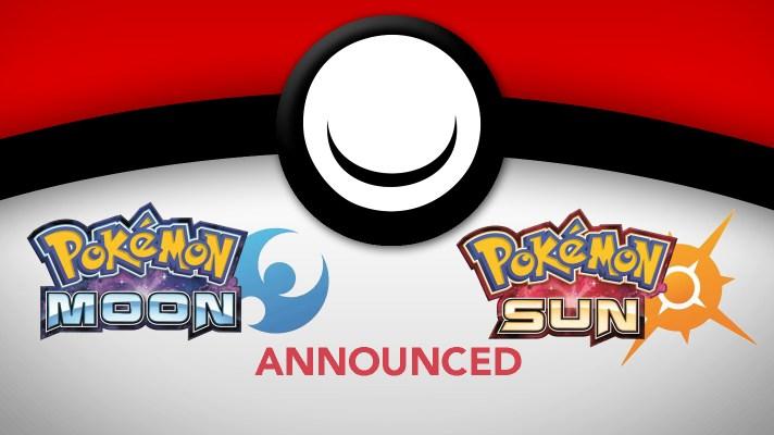 Pokémon Sun and Pokémon Moon officially announced in Pokémon Direct, out 2016