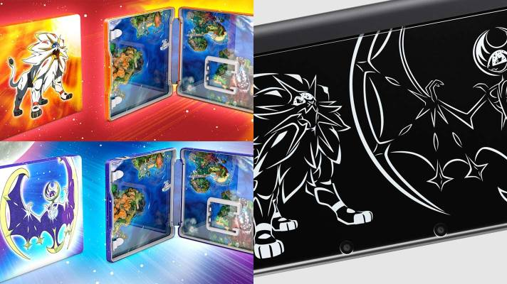 Special Edition Pokémon Sun and Moon games and New 3DS XL on the way