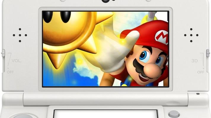 Super Mario Sunshine level on 3DS thanks to mod of Super Mario 3D Land