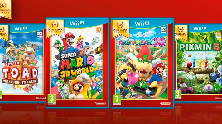 Captain Toad, Super Mario 3D World, Mario Party 10 and Pikmin 3 go 'Selects' this September