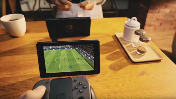First look at FIFA running on the Nintendo Switch